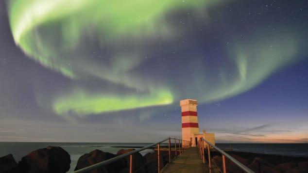 Farol Velho de Gardskagi, Gardur, Islândia Shutterstock (Z-Lex)