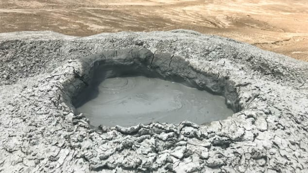 Azerbaijan mud volcano-1
