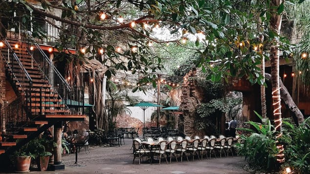 El Presidio's food is as good as its dramatic decor.