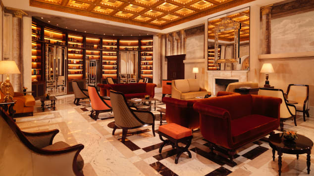 Hotel Eden balances bling with restrained modern elegance.