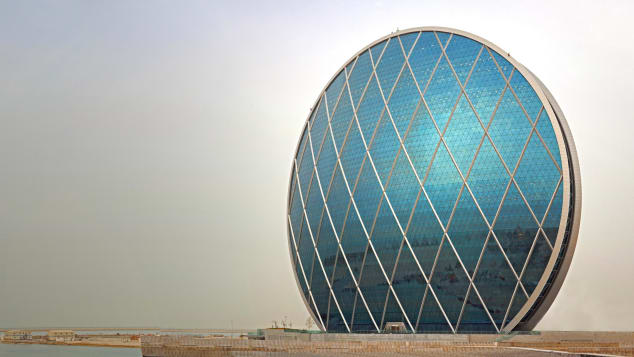 Aldar HQ - Courtesy Department of Culture and Tourism -- Abu Dhabi