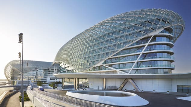 Yas Viceroy Abu Dhabi (Exterior Day) -- Courtesy Department of Culture and Tourism Abu Dhabi
