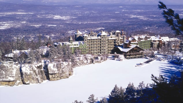 Mohonk Mountain House in New Paltz, New York, is in high demand for the 2020 holiday season.