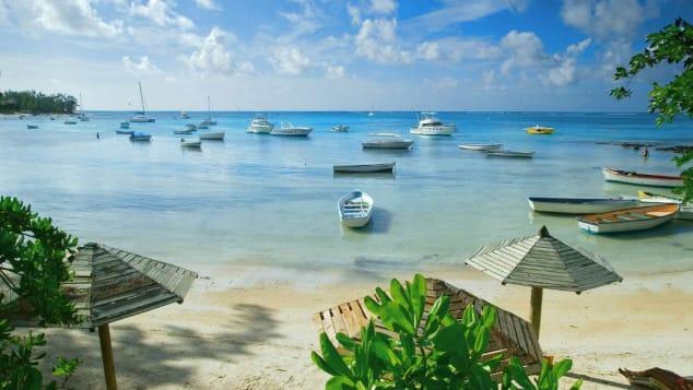Peyebere Beach, Mauritius