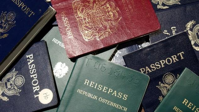 passports file photo