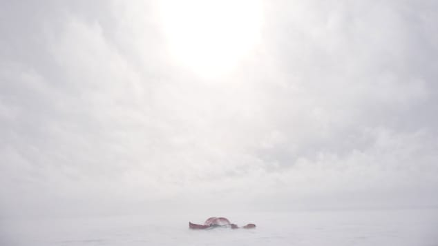 """Whiteout-""""It-was-as-if-the-elements-were-furious-that-we-were-there,""""-Worsley-wrote----Courtesy-William-Gow"""
