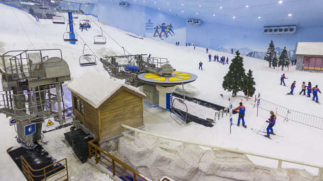 World's Best Indoor Ski Resort: Ski Dubai took home this honor.