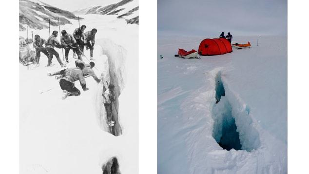 Cravasse Antarctic