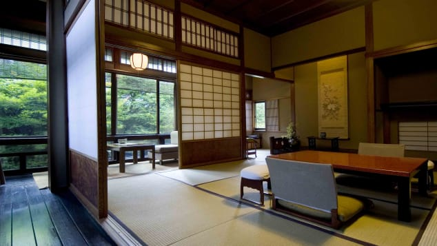 Ryokan design is simple and polished, never cluttered or ornate.