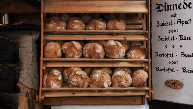 German bread is heartier than the bread baked by many of its neighbors.