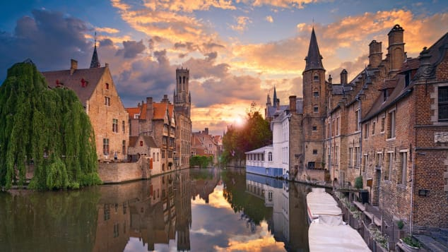 During peak times, visitors outnumber residents by three to one in Bruges.