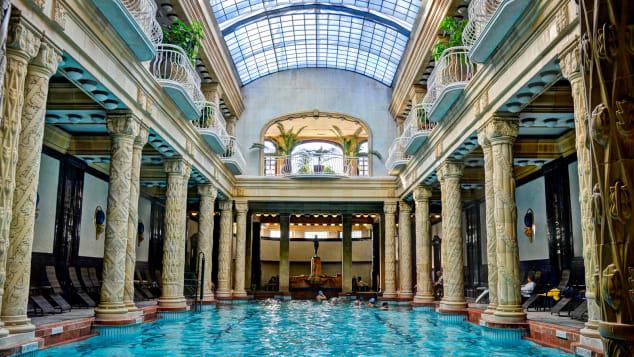 Budapest winter activities - Gellért Baths