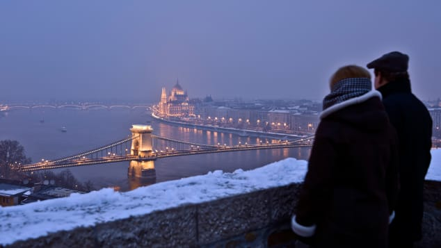 Budapest winter activities - river danube