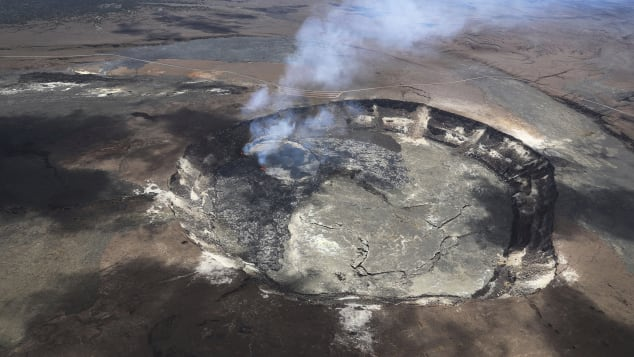 Kilauea Volcano's Halemaumau crater is back to being a tourist attraction.