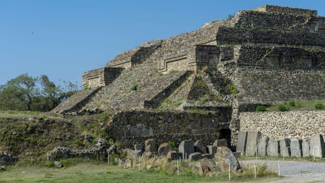 Oaxaca is home to the Monte Alban UNESCO site, a large pre-Columbian archaeological complex.