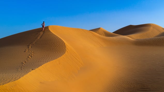 Oman has epic sand dunes, mountains and some of the greenest terrain on the Arabian peninsula.