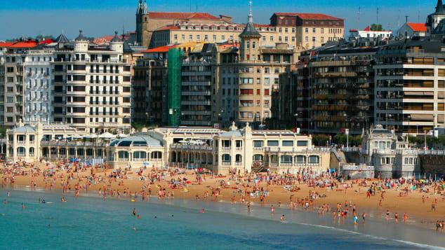 La Concha Beach Barcelona