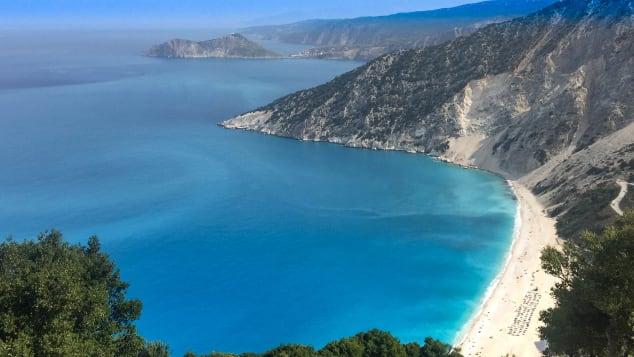 Myrtos beach, Kefalonia
