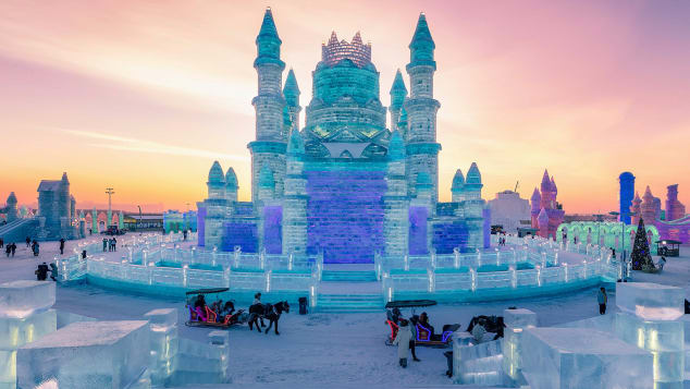 Harbin Ice Festival-1074742534