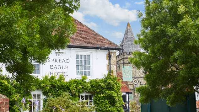 Parts of The Spread Eagle Hotel & Spa date back to the 15th century.