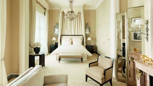 The Coco Chanel Suite at the Ritz Paris has rates upwards of $20,000 a night.