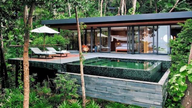 Six Senses Krabey Island is made up of 40 pool villas.