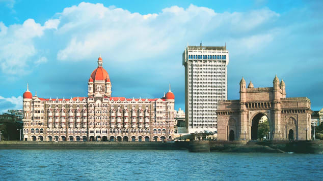 Famous guests have been arriving at the Taj Mahal Palace hotel since 1903.