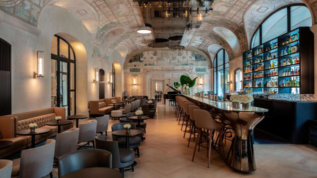 Hotel Lutecia's elegant Bar  Joséphine is just one tribute to performer Josephine Baker.