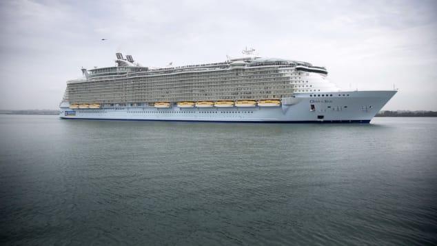 Royal Caribbean's Oasis of the Seas won for Best Ship Refurbishment.