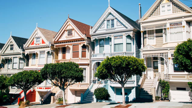 Colorful Victorian houses are what many have come to associate with San Francisco architecture.