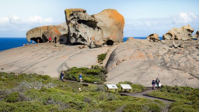 Kangaroo Island is off the coast of South Australia.
