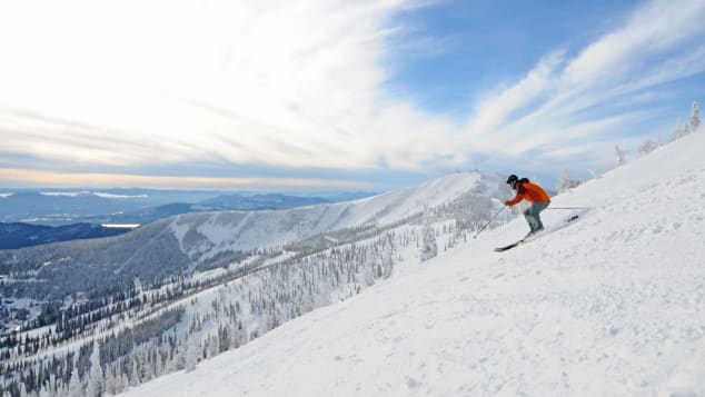 Short lift lines (it's somewhat hard-to-get-to location mean it's never too crowded) and 2,900 skiable acres make Schweitzer Mountain Resort an underrated attraction.