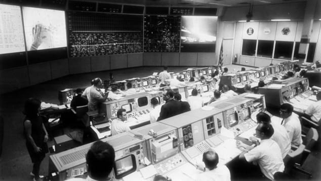Johnson's Space Center Mission Control Room is being restored and wil be open to the public in July 2019.