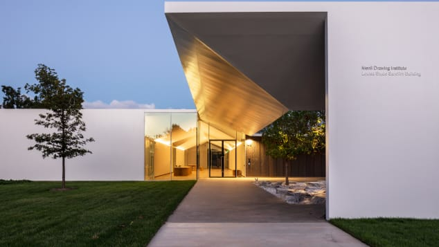 The recently opened Menil Drawing Insitute claims to be the world's first freestanding building dedicated to modern and contemporary drawings.