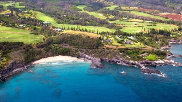 Molokai has breathtaking Hawaiian scenery and quiet accommodation.