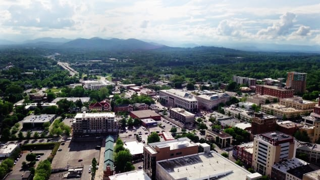 Asheville is home to dozens of breweries.