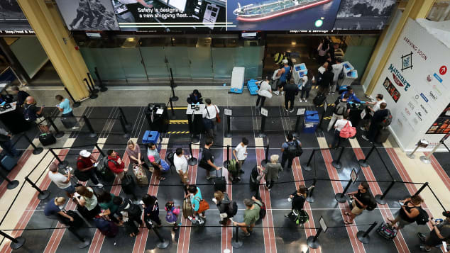 It can often be a slog to get through TSA security lines.