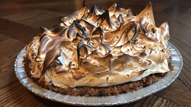 Meringue dessert at CUT by Wolfgang Puck