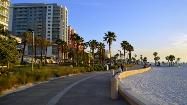 Florida's Clearwater Beach was named the best beach in the US.