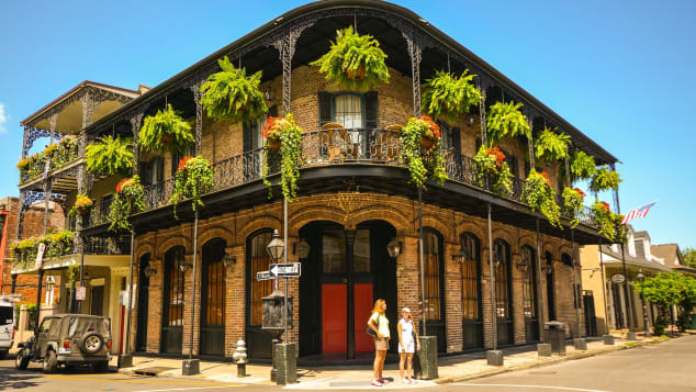 Explore the French Quarter of New Orleans, but be sure to follow safety protocols.