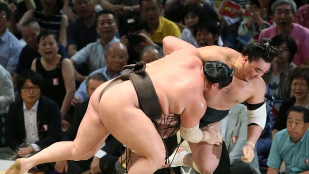 Sumo wrestling dates back at least 2,000 years.
