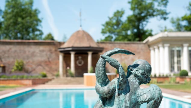 The property's spa is situated in the garden, and guests can select from a variety of spa day packages.