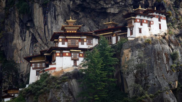 Paro Taktsang -- also known as Tiger's Nest Monastery -- is one of Bhutan's most famous sites.