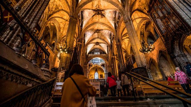Antoni Gaudí's Sagrada Familia has been under construction since 1882.