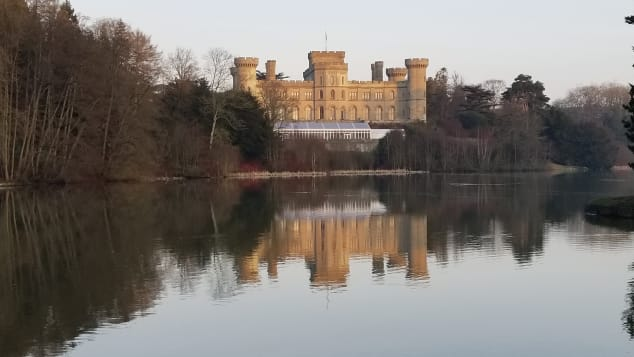 Eastnor Castle and Arboretum was founded by the first Earl Somers.