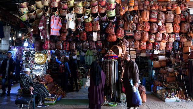 Explore Jemaa el-Fnaa square in Marrakech's medina quarter.