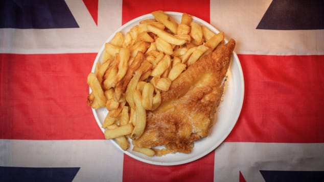 There's no dish more British than fish and chips.