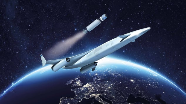 The Sabre could dramatically reduce intercontinental flight times.