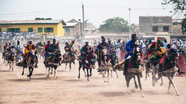 Durbar royal horse parade
