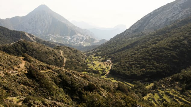 The journey to Olympos in the northern part of Karpathos is a rugged one, but the rewards make it worth the trek.